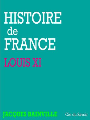 cover image of Louis XI