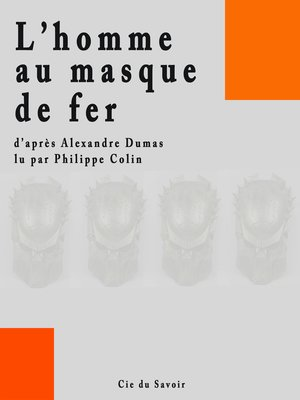 cover image of L'homme au masque de fer