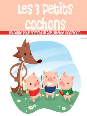cover image of Les 3 petits cochons