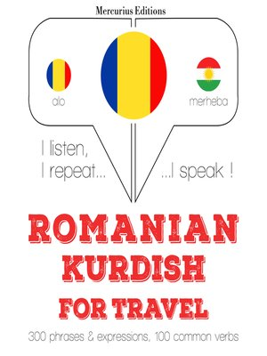 cover image of Romanian-Kurdish: For travel