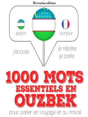 cover image of 1000 mots essentiels en ouzbek