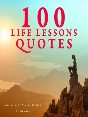 cover image of 100 Life Lesson Quotes