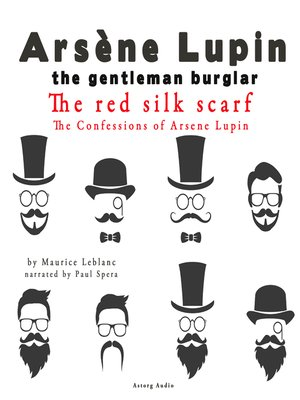 cover image of The Red Silk Scarf