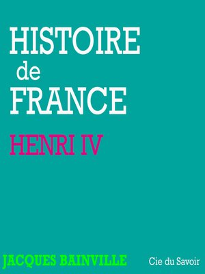 cover image of Henri IV