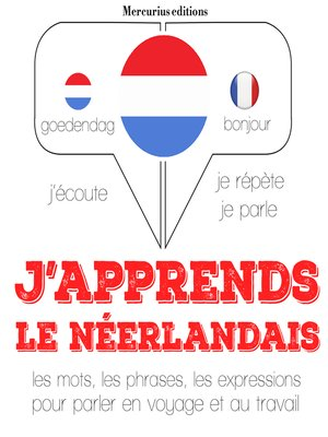 cover image of J'apprends le néerlandais