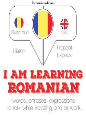 cover image of I am Learning Romanian