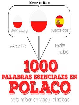 cover image of 1000 palabras esenciales en polaco