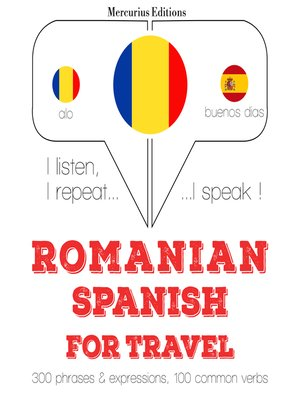 cover image of Romanian-Spanish: For travel