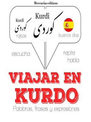 cover image of Viajar en kurdo