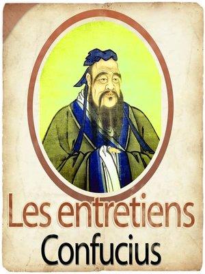 cover image of Les entretiens de Confucius