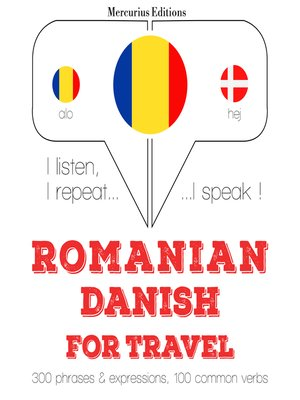 cover image of Romanian-Danish: For travel