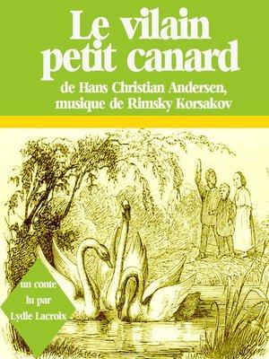 cover image of Le vilain petit canard