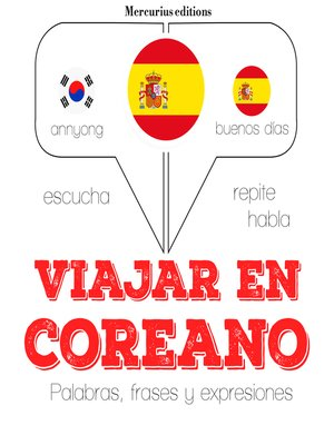 cover image of Viajar en coreano
