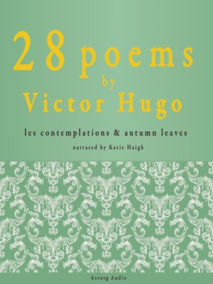 cover image of 28 Poems by Victor Hugo