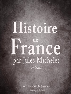 cover image of Histoire de France par Jules Michelet