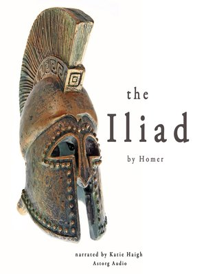 cover image of The Iliad by Homer