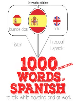 cover image of 1000 Essential Words in Spanish
