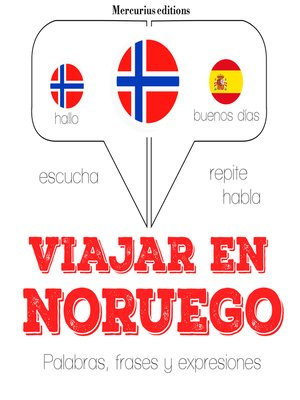 cover image of Viajar en noruego