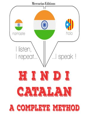 cover image of Hindi-Catalan: a complete method