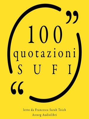 cover image of 100 citazioni Soefi