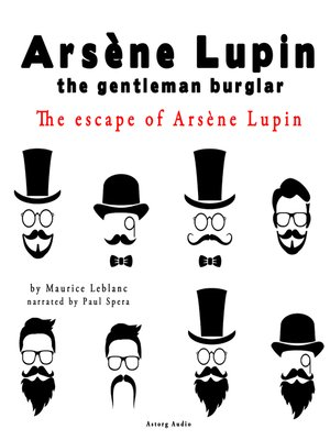 cover image of The Escape of Arsene Lupin