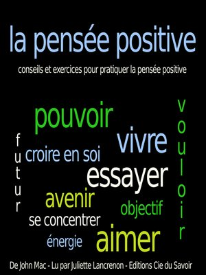 cover image of Pensée positive
