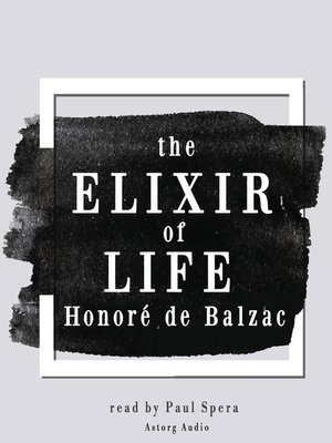 cover image of The Elixir of Life