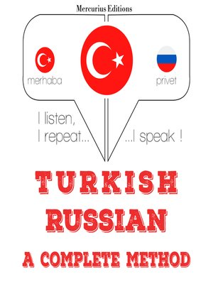 cover image of Turkish-Russian: a complete method