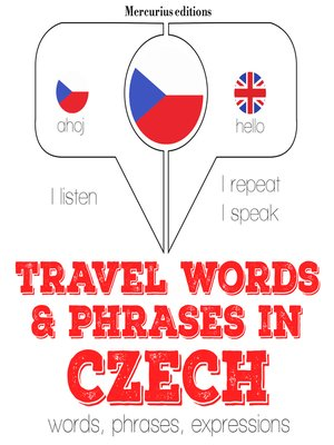 cover image of Travel Words and Phrases in Czech