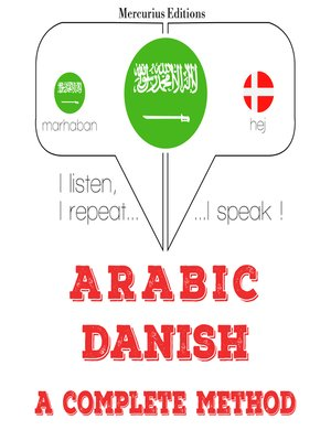 cover image of Arabic-Danish: a complete method