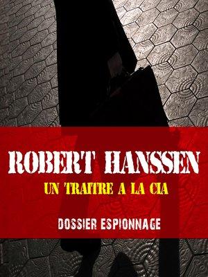 cover image of Un traître à la CIA