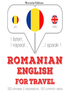 cover image of Romanian-English: For travel