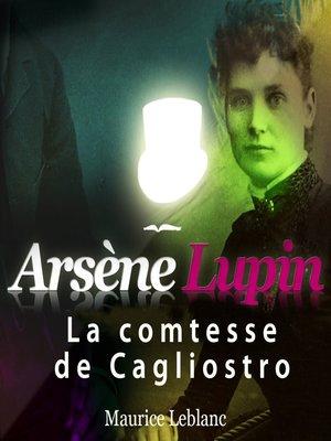cover image of La comtesse de Cagliostro