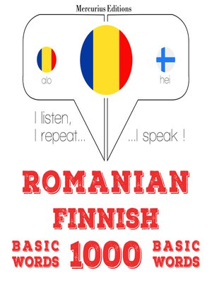 cover image of Romanian-Finnish: 1000 basic words