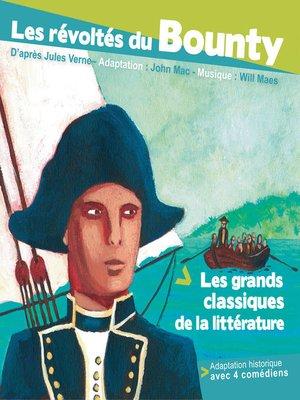 cover image of Les révoltés du bounty