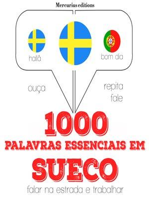 cover image of 1000 palavras essenciais em sueco