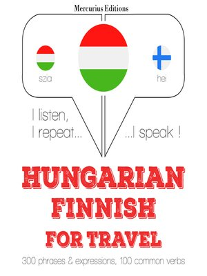cover image of Hungarian-Finnish: For travel