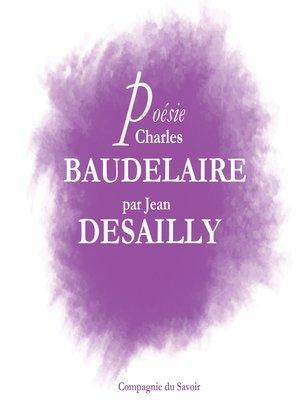 cover image of Baudelaire par Jean Desailly