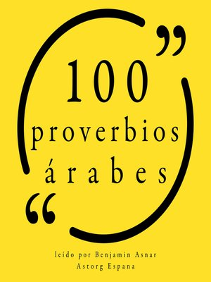 cover image of 100 Proverbios árabes