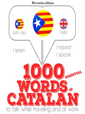 cover image of 1000 essential words in Catalan
