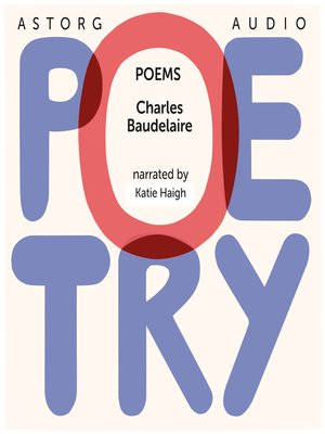 cover image of Poetry by Charles Baudelaire