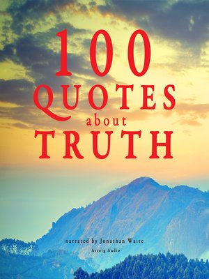 cover image of 100 Quotes about Truth