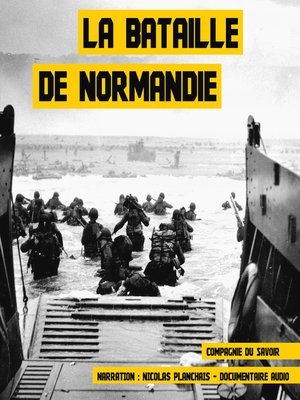cover image of La bataille de Normandie