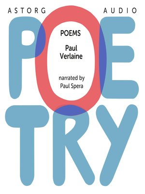 cover image of Poems of Paul Verlaine