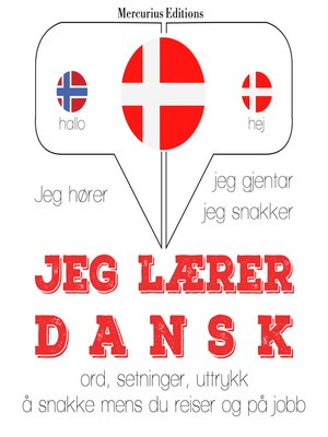cover image of Jeg lærer dansk