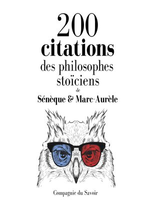 cover image of 200 citations des philosophes stoïciens