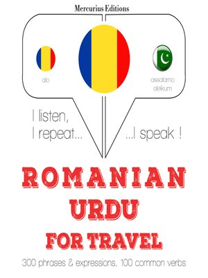 cover image of Romanian-Urdu: For travel