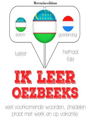 cover image of Ik leer Oezbeeks