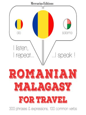 cover image of Romanian-Malagasy: For travel