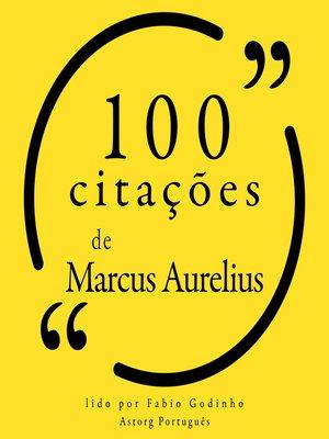 cover image of 100 citações de Marco Aurélio